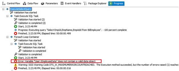 Working with Execute SQL Task in SSIS | Learn MVC, Angular